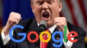 spam do donald trump no Google Analytics