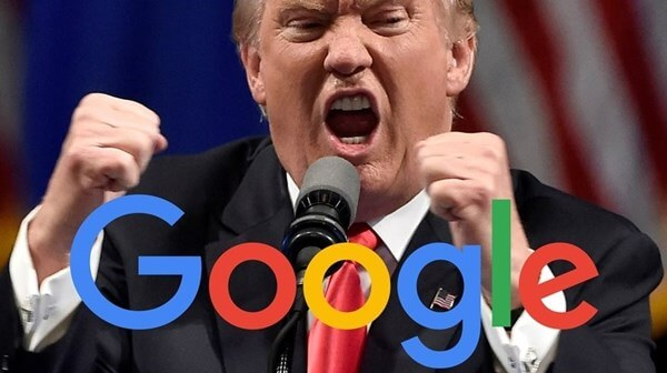 Mensagem do Donald Trump no Google Analytics?