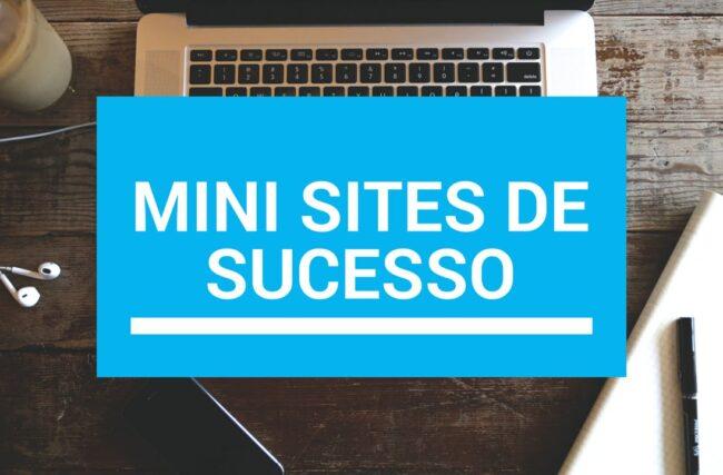 Como Criar Mini Sites Arrasadores