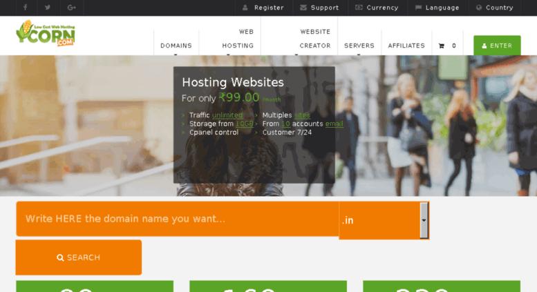 Ycorn Hospedagem de Sites hospedagem barata e boa para sites
