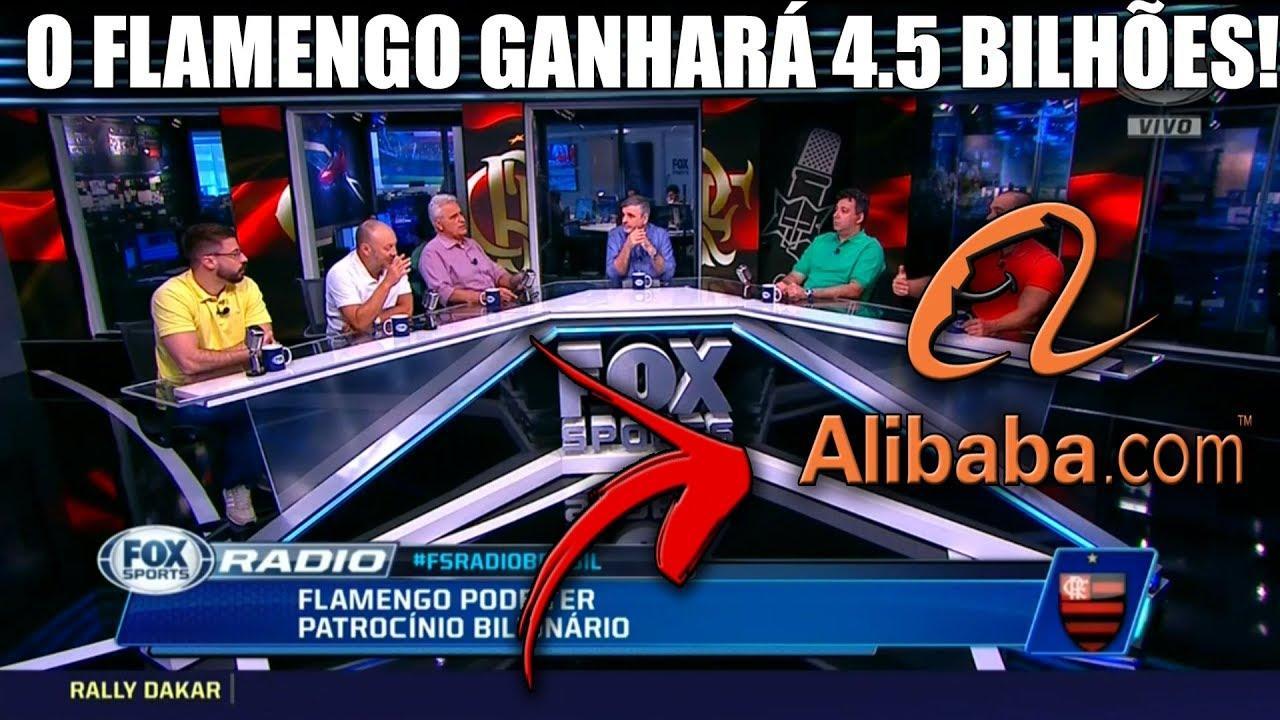 alibaba flamengo novo patrocinio